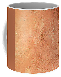 Coffee Mug featuring the painting Sienna Rose by Michael Rock
