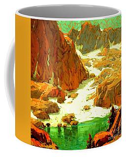 Sierra Landscape Circa 1920 Coffee Mug