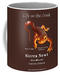 Sierra Newt - Color Newt - White Text Coffee Mug
