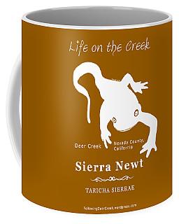 Sierra Newt - White Coffee Mug