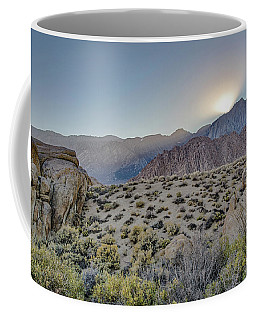 Coffee Mug featuring the photograph Sierra Sunrays by Gaelyn Olmsted