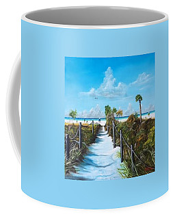 Siesta Beach Access Coffee Mug
