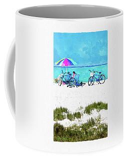 Siesta Key Beach Bikes Coffee Mug