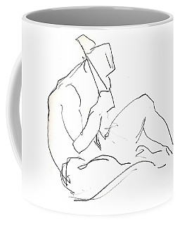 Siesta - Male Nude Coffee Mug