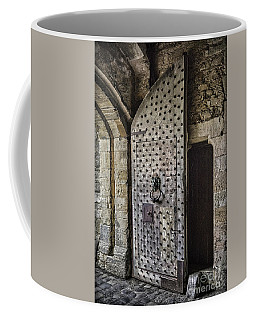 Sights In England - Big Castle Door Coffee Mug