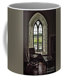 Sights In England - Castle Window 2 Coffee Mug