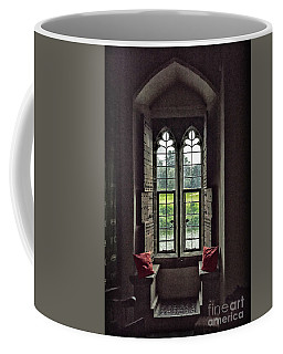 Sights In England - Castle Window Coffee Mug