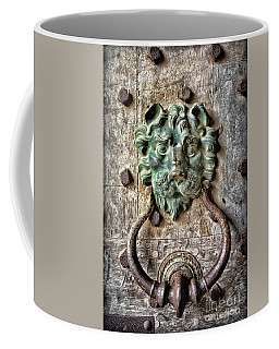 Sights In England - Lion Door Knocker Coffee Mug