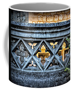 Sights In England - Sculpted Wall Coffee Mug
