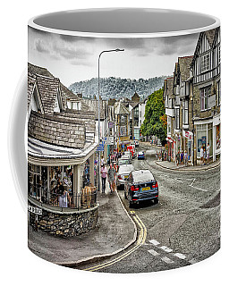Sights In England - Village Street Coffee Mug