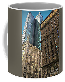 Coffee Mug featuring the photograph Sights In New York City - Old And New 2 by Walt Foegelle