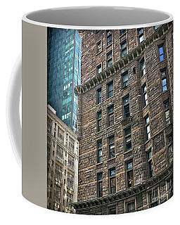 Coffee Mug featuring the photograph Sights In New York City - Old And New by Walt Foegelle