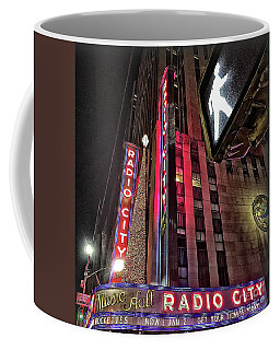 Sights In New York City - Radio City Coffee Mug
