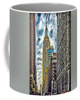 Coffee Mug featuring the photograph Sights In New York City - Skyscrapers 10 by Walt Foegelle