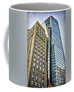 Coffee Mug featuring the photograph Sights In New York City - Skyscrapers by Walt Foegelle