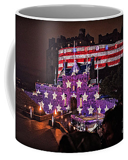 Sights In Scotland - America At Tattoo Coffee Mug