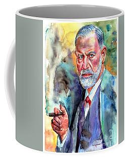 Sigmund Freud Painting Coffee Mug