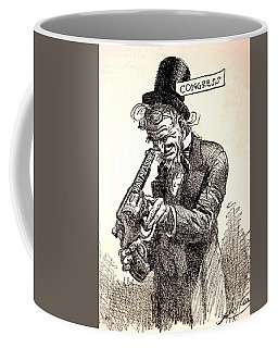 Coffee Mug featuring the painting Sign Of The Times by Pg Reproductions