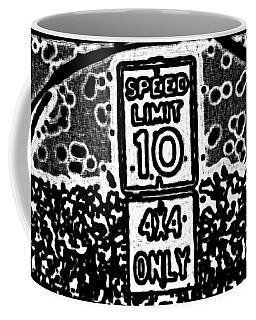 Sign To Elsewhere Coffee Mug