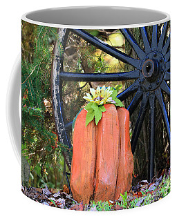 Coffee Mug featuring the photograph Signs Of Fall by Rick Morgan