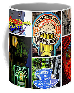 Signs Of New Orleans Coffee Mug by Kathleen K Parker