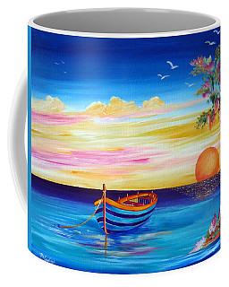 Silence And Tranquility At Sunset Coffee Mug