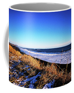 Silence At Black Sand Beach Coffee Mug
