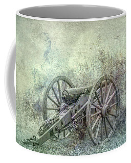 Coffee Mug featuring the digital art Silent Cannon Field Of Fire by Randy Steele