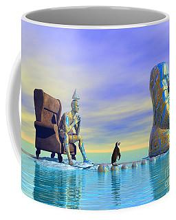 Silent Mind - Surrealism Coffee Mug