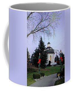 Coffee Mug featuring the photograph Silent Night Chapel by LeeAnn McLaneGoetz McLaneGoetzStudioLLCcom