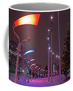 Coffee Mug featuring the photograph Silent Night.. by Nina Stavlund