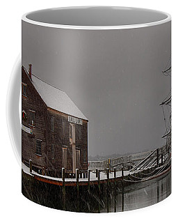 Silently The Snow Falls. Coffee Mug