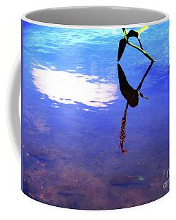 Coffee Mug featuring the photograph Silhouette Aquatic Fish by Rockin Docks Deluxephotos