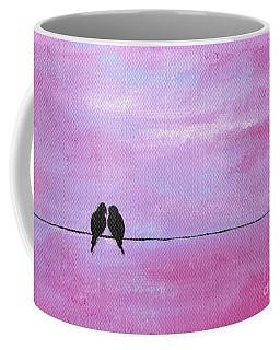 Silhouette Birds Two Coffee Mug