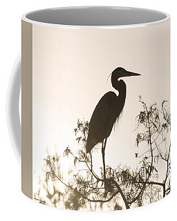 Silhouette In The Sunset Coffee Mug