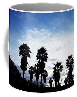 Silhouette In Tropea Coffee Mug