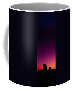 Silhouette Of Rock Formations, The Coffee Mug