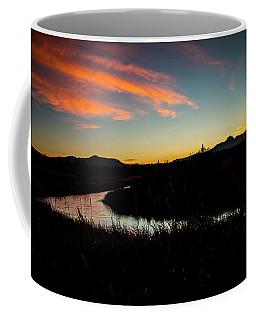 Silhouette Sunset Coffee Mug