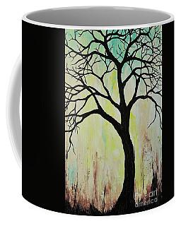 Silhouette Tree 2018 Coffee Mug
