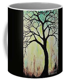 Silhouette Tree 2018 Coffee Mug
