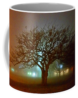 Coffee Mug featuring the photograph Silhouette Tree by Michael Rucker
