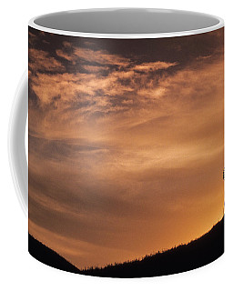 The Silhouette Windmill  Coffee Mug