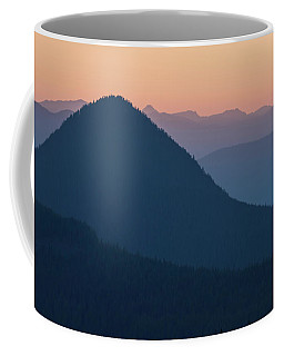 Coffee Mug featuring the photograph Silhouettes At Sunset, No. 2 by Belinda Greb