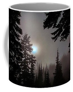 Silhouettes In The Mist 2008 Coffee Mug