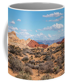 Silica Dome - Valley Of Fire Coffee Mug