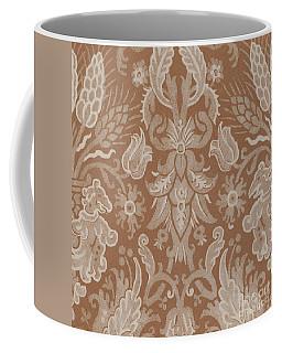 Silk Damask, Italian, 16th Century  Coffee Mug