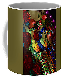 Silk Peacocks Coffee Mug