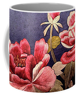 Silk Peonies - Kimono Series Coffee Mug