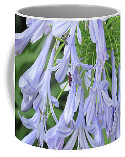 Silky Blue Blossoms Coffee Mug