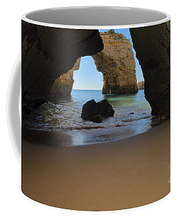 Silky Sands And Arch Coffee Mug by Angelo DeVal